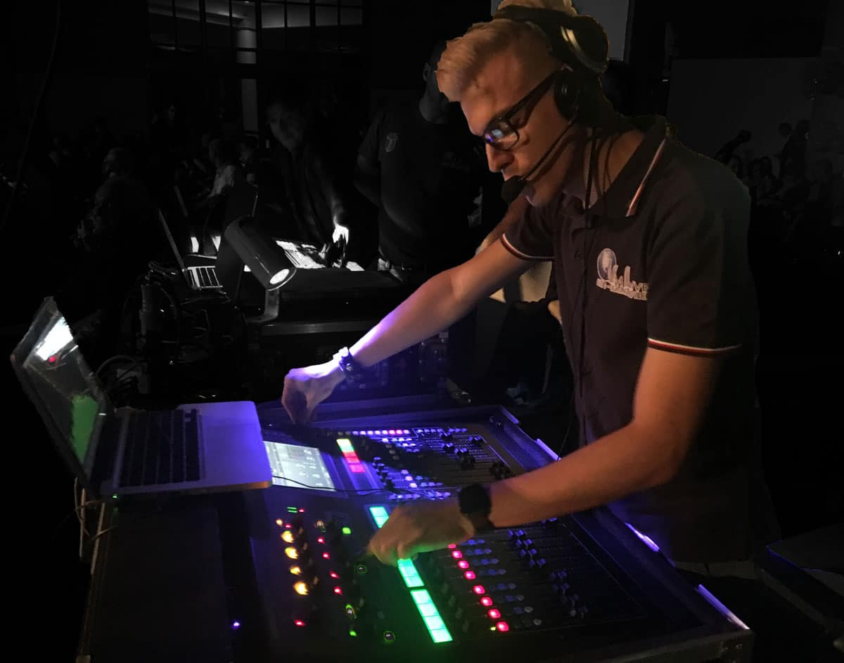 Tecnico VM Live Fonico Fonia Audio Mixer